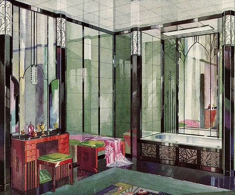 Interior Design Style Art Deco Mjn And Associates Interiors