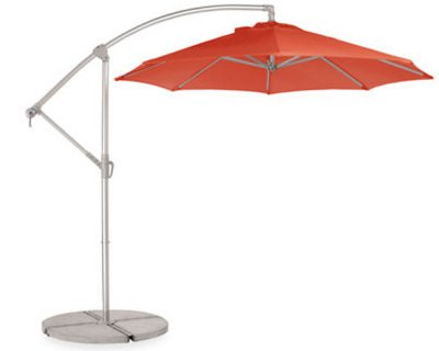 Room And Boardu0027s Waikiki Orange Umbrella Combines Form And Function  Beautifully.