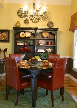 atlanta breakfast room interior design