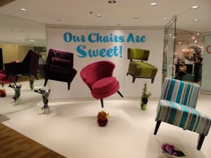 High Point Chairs Display
