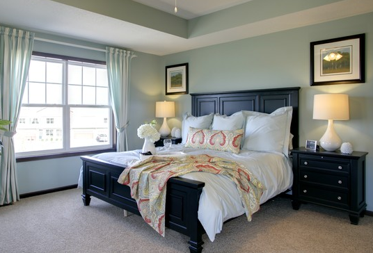 Sherwin Williams Quietude  Http://mjninteriors.com/wp Content/uploads/2013/04/spa Bedroom Design Paint Color.png  | New Home | Pinterest | Bedrooms, ...