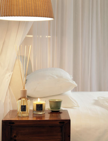 spa bedroom fragrances