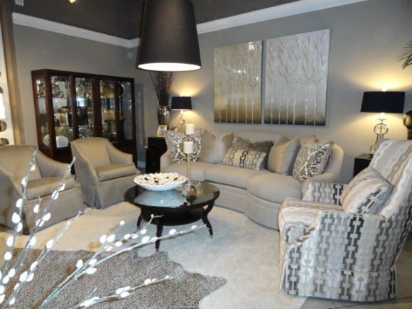 silvery gray interior design
