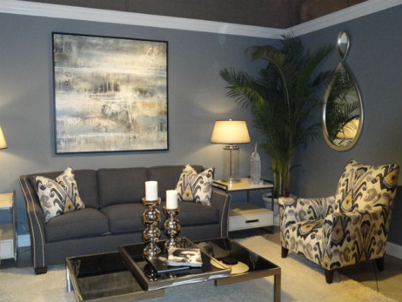 Interior design trend watch gray is the new neutral mjn for Grey interior designs