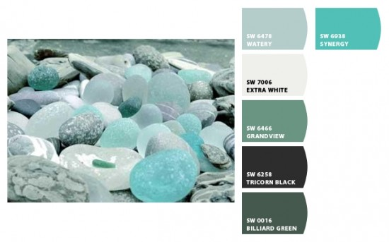 Coastal Color Inspiration Sea Glass Mjn And Associates