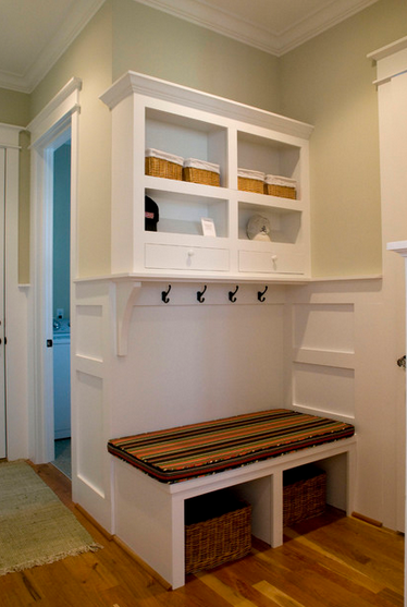 Foyer Storage Zone : Back to school interior design with kids in mind mjn