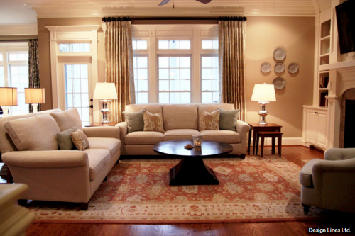 Pinterest pictures of early american colonial interiors for Colonial living room decorating ideas