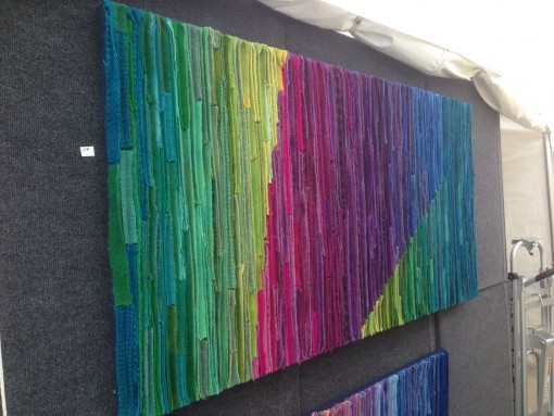 Virginia Beach interior design- fiber art