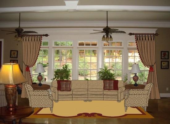 digital interior design rendering in Virginia