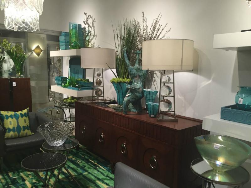 turquoise interior design Hampton Roads