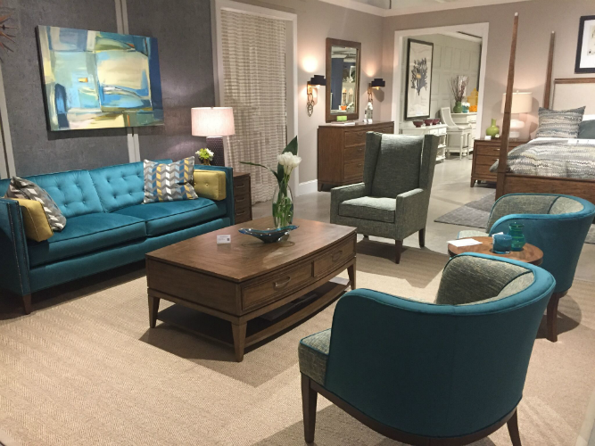 turquoise color trend- Virginia Beach interior design