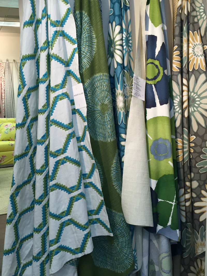 Virginia Beach interiors- fabrics