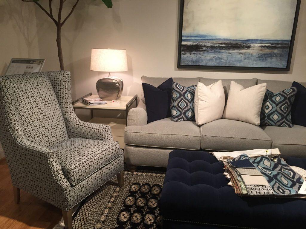 navy blue interior design trend