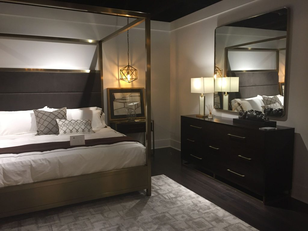 glam interior design bedroom
